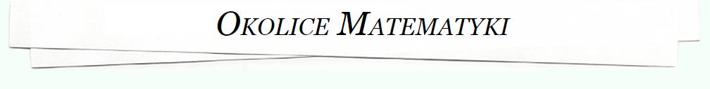 Okolice Matematyki